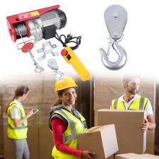 600KG capacité Palan électrique Palan treuils électrique Construction robuste