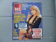 CINE REVUE N°1 6/1/1994 A.LEAR CALENDRIER PIRELLI ADAMO SPIELBERG F.DUNAWAY   H3