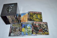 Iron Maiden 12 Albums Full Box Set Complete 15 CD Heavy Metal Music songs