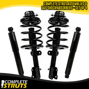 Front Pair Complete Struts /& Springs for 1990-1995 Chrysler Town /& Country V6