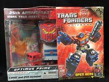 Hasbro Transformers Universe: 25th Anniversary Optimus Prime Robots 2008 G1
