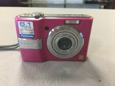 Panasonic Digital Camera LUMIX DMC-LS80 8.1 MP  - Pink USED! EXCELLENT!!! D9