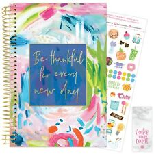 2021 Cleerly Stated Calendar Year Daily Planner Agenda 12 Month Jan - December