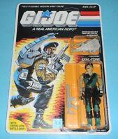 *RECARDED* 1986 GI Joe Dial Tone Figure Complete Sealed *CUSTOM File Card Back*