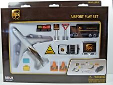 Realtoy 4341 UPS Playset with Boeing 747 Diecast Model & Airport Accessories