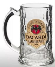 Bacardi Oakheart Glass Tankard