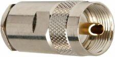Heavy Duty  UHF PL259 Solder On Collar Ring  CB Radio RG213 Antenna Aerial Coax