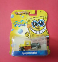 HOT WHEELS - BOB L'EPONGE - SPONGEBOB - HOT ROD - LONGUE CARTE - Y0764 - R 6021