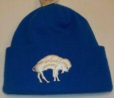 Nfl Buffalo Bills Vintage Cuffed Knit Hat By Reebok - Adult Osfa - New