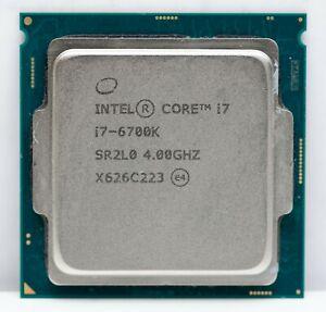 Intel Core i7-6700k Skylake Quad-Core 4.0GHz LGA 1151 91W Desktop Processor CPU