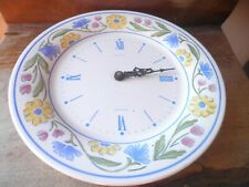 Battery operated clock plate