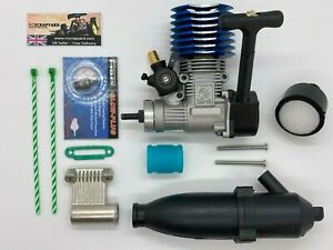 Nitro Engine 1/10 Universal RC Buggy Truck Car with  + Exhaust + Filter + Plug