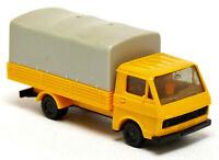 Herpa VW Volkswagen LT Pritsche Plane gelb orange neutral kommunal LKW 1:87 H0