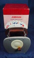 Vintage Nestor Johnson Card Shuffler Model No. 50 In Original Box Instructions