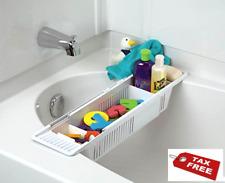 KidCo Bath Toy Organizer Storage Basket, White, No Tax, Free Ship .