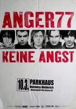 ANGER 77 - 2000 - Konzertplakat - Concert - Keine Angst - Tourposter - Duisburg