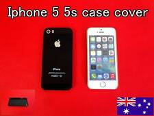 iPhone 5 5S Case Cover Protector Matte Hard Back Black (Free Skin vinyl Sticker)