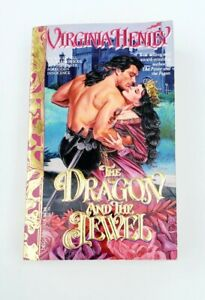 The Dragon And The Jewel, By Virginia Henley, 1st Printing, Like New