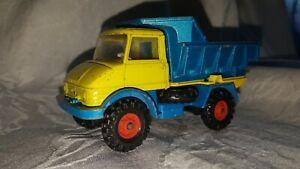 Corgi - Unimog 406 - Mercedes Dump Truck Vintage Benne Tilting FREEPOST