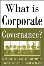 Very Good, What Is Corporate Governance? (Management & Leadership), Stettinius,