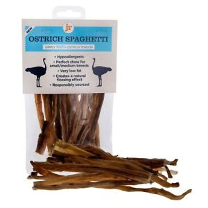 Ostrich Tendon Spaghetti Sticks 1 x80g Pack gluten and grain free treats