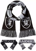 NFL Oakland Raiders Reversible Knit Scarf