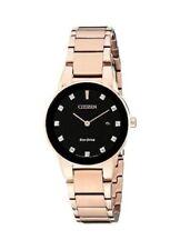Citizen GA1058-59Q Eco-Drive Womens Axiom Rose Gold Watch