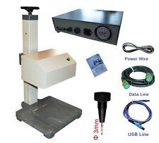 Pneumatic Marking Engraving Machine Metal Stainless Steel USB Engraver 17x11cm