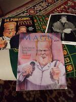 Society of American Magicians President Michael Finney Vintage Genii Magazine