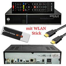 GigaBlue UHD IP 4K USB HDMI SD 1x DVB-S2X Dual Tuner Receptor multisala negro incluye cable HDMI