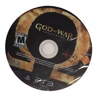 PS3 God of War Ascension DISC ONLY Playstation Clean Tested And Working