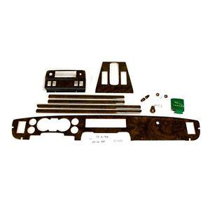 Fits Jaguar XJ-6 Series 3 Walnut Burl Complete Comp.Wood Set, LHD, Gloss