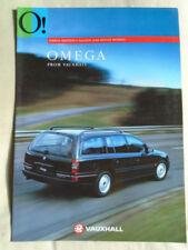 Omega 1994 Vauxhall/ Opel Car Sales Brochures