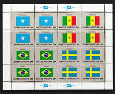 103820/ONU 1983-KB Mer 422/37 - bandiere - ** - M € 19,20+