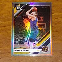 2019-20 Donruss Optic Prizm Holo #96 Nikola Jokic Denver Nuggets