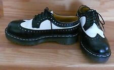 Dr. Martens Original Black and White Oxfords Worn Twice Womens Us 7
