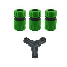 Compatible Garden Hose Pipe Splitter Joiner New Y Piece Junction Connectors La3