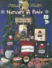 Mill Hill Never a Pair Snowmen X-stitch/Beading/Treasures Chart
