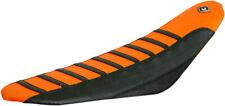 FLU Designs Pro Rib PRS Seat Cover Orange For KTM SX/XC/EXC/XCW 03-07 055500