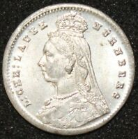 1887 | Victoria Toy Money Threepence | Coins | KM Coins