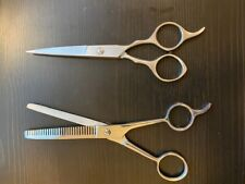 Professional Salon Hair Cutting+Thinning Scissors Barber Shears Hairdressing Set