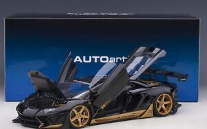 Liberty Walk lb-Works Lamborghini Aventador Limited Edition (Gloss Black With