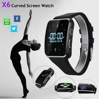 Bluetooth Smart Watch for Android Samsung X6 Q18 GT08 Touch Screen Waterproof