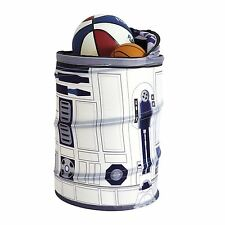 STAR WARS R2-D2 POP UP STORAGE NEW BIN TOY BOX BEDROOM