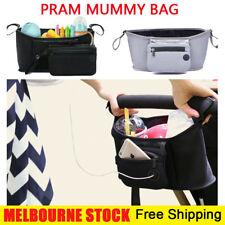 Pram Pushchair Stroller Accessories Buggy Mummy Bag Cup Bottle Holder Organise
