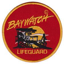 """Baywatch Rettungsschwimmer mit Figur-Logo zum Aufbügeln Patch 4"""""""