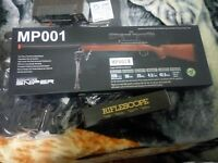 MP001B Airsoft Sniper Rifle Package