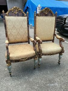 Pair of Magnificent Arm Chairs
