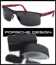 OCCHIALE PORSCHE DESIGN P8561 A 66  color titanio lenti GRIGIO