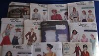 A Vogue ~ Patterns are Mixed Sizes ~ Mixed Prices  U-PICK ~ 30+ Listed 8411 NIP